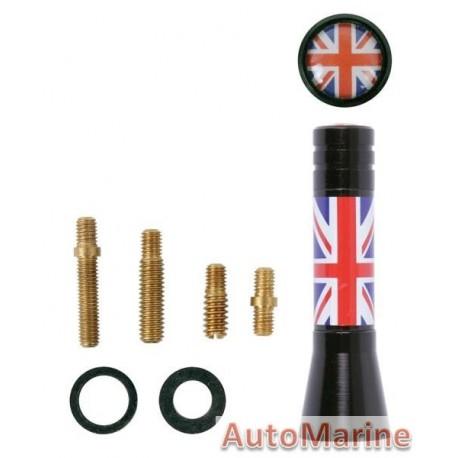 AERIAL MAST 6CM UK FLAG