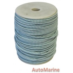 Bungee Rope (4mm x 200m) [Green / White]