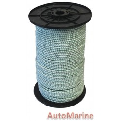 Bungee Rope (6mm x 200m) [Green / White]