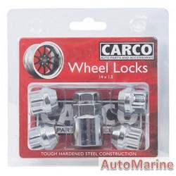 Locking Wheel Nut Set [19/21mm x 14mm x 1.5mm]
