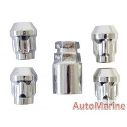Locking Wheel Nut Set [19/21mm x 12mm x 1.5mm]