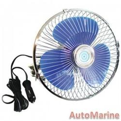 Oscillating 8 Inch Diameter Fan - 12 Volt