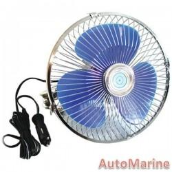 Oscillating 8 Inch Diameter Fan - 24 Volt