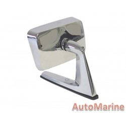 Universal Chrome Square Mirror