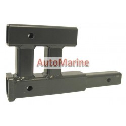 Towbar Hitch Extension with Dual Fitting