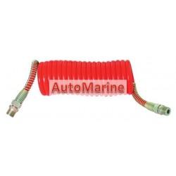 Air Brake Hose Coil - Red (4M)