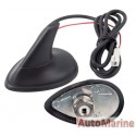 Shark Fin Aerial for Roof or Boot