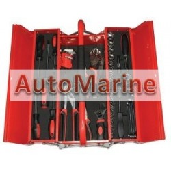 Tool Kit in 3 Tray Tool Box (48 Piece)