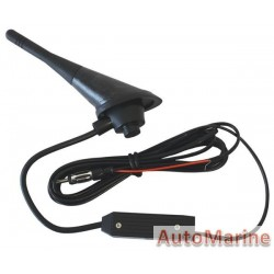Universal Rubber Roof Mounting Aerial