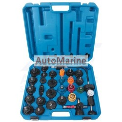 Radiator And Cap Testing Kit (33 Piece)
