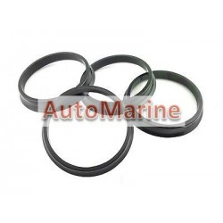 Spigot Ring Set (4 Piece) [56.2 / 72mm] [With Lip]