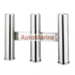 Rod Holder - 3 Rod - Heavy Duty - 316 Stainless Steel