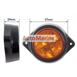 LED Marker Lamp - 4 LED - Amber
