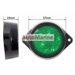 LED Marker Lamp - 4 LED - Green