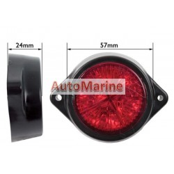 LED Marker Lamp - 4 LED - Red