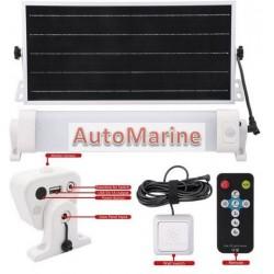 Solar LED Batten Light Kit - 12 Watt