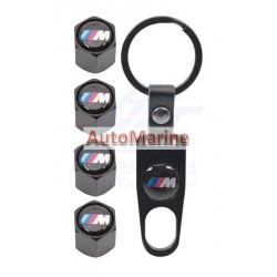 Valve Caps - BMW M Sport with Key Ring