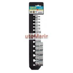 "E-Type Socket Set - 1/2"" Drive - 13 Piece"