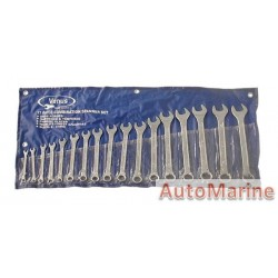 17 Piece Spanner Set (6mm to 23mm)