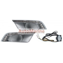 Ford Ranger (2015 Onward) DRL Spot Lamp Cover Set