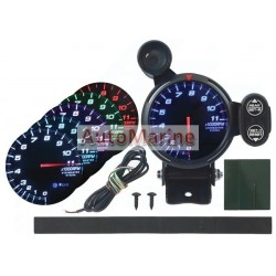 80mm Tachometer with 7 Colours