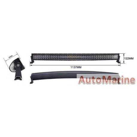LED Spot Lamp Curved Bar - 240W(80X3W) - 10-30V