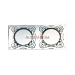Licence Disc Holder (Double) for Truck / Trailer (Metal)