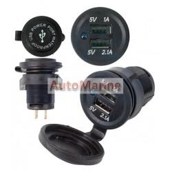 USB Charge Unit (Waterproof) 2 Port