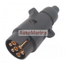 Trailer Plug (Slinder) - Plastic - 7 Pin