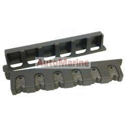 Rod Holder Rack - Plastic - Vertical (6 Rod)