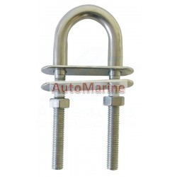 U-Bolt - Stainless Steel - 8mm x 100mm