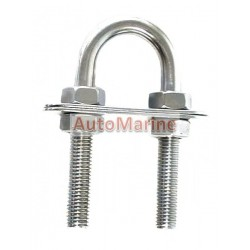 U-Bolt - Stainless Steel - 10mm x 90mm