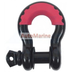 Bow Shackle - Plastic Coated - 4.7 Ton