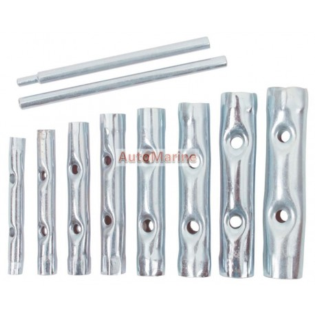 Tube Socket Set - 10 Piece - Metric