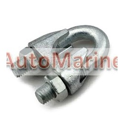 Wire Rope Clip - 3mm - Galvanised