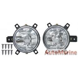 Ford Figo 2011- 2012 Spot Lamp Set