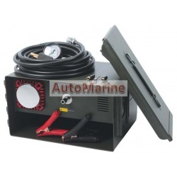 Heavy Duty Air Compressor & Tyre Inflator in Ammo Box - 12 Volt