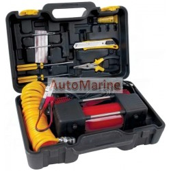 Heavy Duty Air Compressor & Tyre Inflator with Repair Kit