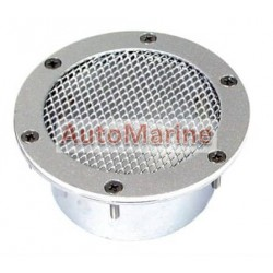 Air Inlet with Cover - Silver