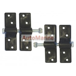 Canopy Clips (Black) - Plastic - 2 Pieces