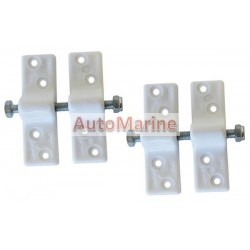Canopy Clips (White) - Plastic - 2 Pieces