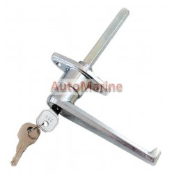 Canopy Locking Handle with Keys - L Type