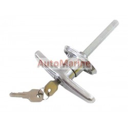 Canopy Locking Handle with Keys - T Type