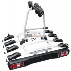 Tow Ball Mounting Bicycle Rack - 4 Carrier