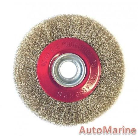 Bench Circular Brush - 200Mm