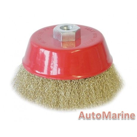 Cup Brush 125mm M14X2