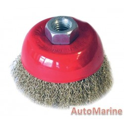 Cup Brush 75mm  M14X2