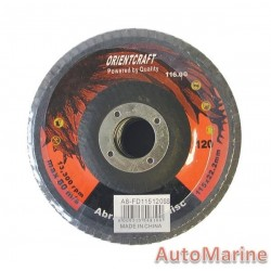 Flap Disc 115mm 120 Grit Stainless Steel