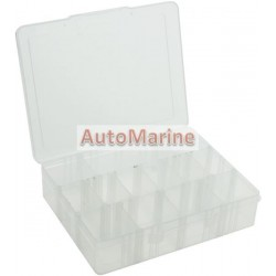 Plastic Box with Lid (14 Compartments)