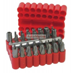 Screwdriver Bit Set 33 Pieces in Blister Card